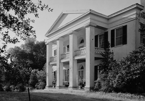 Monmouth Plantation, Natchez, Mississippi - onetime home of Gen. John Quitman