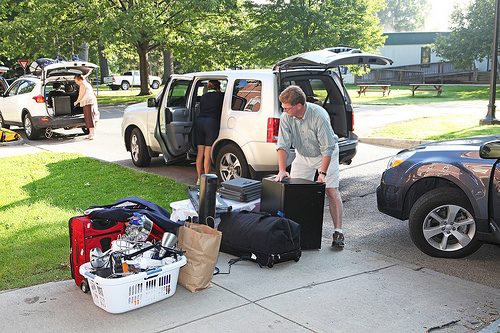 Move-in day 2014, via Williams College on Flickr