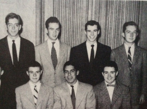 Freshmen photo in The Gul, 1954, showing Leo Gilson (back row, 2nd from r.).