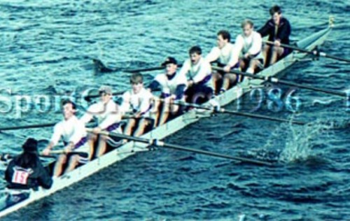 Williams College Club Eight Entry, Head of the Charles Regatta, 1989, via Sport Graphics